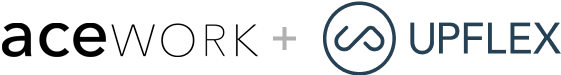 Acework & Upflex logos